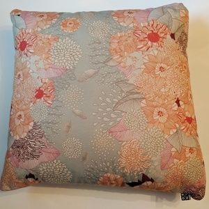 DENY DESIGNS 19x19 Floral Pillow Removable Pillow